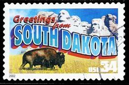 Etats-Unis / United States (Scott No.3601 - 34¢ Greetings From America) (o) Very Fine - United States