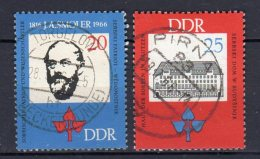 DDR   1165 -1166   Gestempelt - Usados