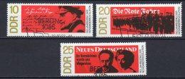 DDR   1417 - 1419    Gestempelt - DDR