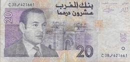 Maroc - Billet 20 Vingt Dirhams - Mohamed VI - 1426-2005 - Marruecos