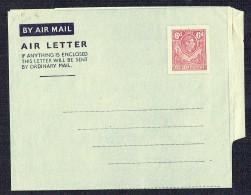 Northern Rhodesia  George VI  6d.  Air Letter - 5 Lines Of Text - Unused - Nordrhodesien (...-1963)