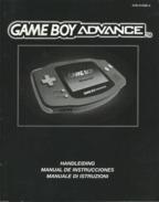 NOTICE GAME BOY ADVANCE - Nintendo Game Boy