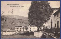 CPA ITALIE - BERGAMO - SERINA (VALLE SERINA) - L'ASILO BOMBELLI - Bergamo