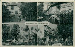 AK Dassel Hunnesrück, Im Kühlen Grunde, O 1939 Landpost Hunnesrück über Kreiensen, RIESENGROßE KNICKE !!! (10419) - Germany