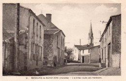 Mesnard La Barotière : L'entrée Route Des Herbiers - France