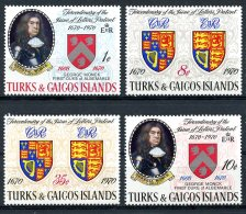 Turks And Caicos Islands, 1970, Patents, Heraldry, MNH, Michel 255-258 - Turks & Caicos (I. Turques Et Caïques)