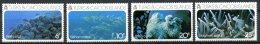 Turks And Caicos Islands, 1975, Coral, Sea Life, MNH, Michel 349-352 - Turks & Caicos (I. Turques Et Caïques)