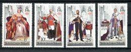 Turks And Caicos Islands, 1978, Coronation Jubilee Queen Elizabeth II, MNH, Michel 385-388A - Turks & Caicos (I. Turques Et Caïques)