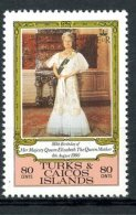 Turks And Caicos Islands, 1980, Birthday Of Queen Elizabeth II, MNH, Michel 496 - Turks & Caicos (I. Turques Et Caïques)
