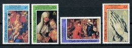 Turks And Caicos Islands, 1978, Christmas, Durer Paintings, MNH, Michel 420-423 - Turks & Caicos (I. Turques Et Caïques)