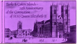 Turks And Caicos Islands, 1978, Coronation Jubilee Queen Elizabeth II, MNH Booklet, Michel 390-392 - Turks & Caicos (I. Turques Et Caïques)