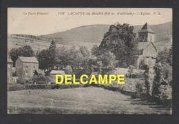 DF / 81 TARN / LACAUNE-LES-BAINS / L' EGLISE ET SES ENVIRONS - France