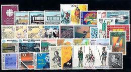 Belgium Belgien Belgique 1983 Complete Year Set  MNH - Belgium