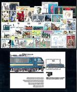 Belgium Belgien 1985 Complete Year Set Included Souvenir Sheet MNH - Belgium