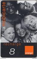 ÎLE DE LA RÉUNION  - RECHARGE - GSM & ORANGE  ***  ENFANTS - 8 *** - Reunion