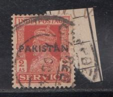 Pakistan  KG VI   2 A  Service Local  Print  Used     #  01458    Sd  Inde  Indien - Pakistan