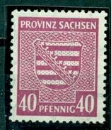 Sowjetische Zone (SBZ). Provinzwappen, Nr. 84 X Postfrisch **, Geprüft BPP - Sowjetische Zone (SBZ)