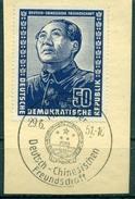 DDR. Deutsch-Chinesische Freundschaft Nr. 288 Sonderstempel Auf Briefstück - Gebraucht
