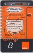 ÎLE DE LA RÉUNION  - RECHARGE - GSM & ORANGE  ***  SMS EMAIL - 8 *** - Reunion
