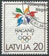 LETTLAND 1998 Mi-Nr. 474 O Used - Aus Abo - Latvia