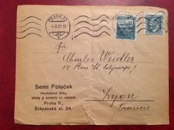 Prague Praha Semi Polacek 1937 - Covers & Documents