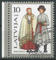 LETTLAND 1998 Mi-Nr. 479 O Used - Aus Abo - Latvia