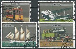 LETTLAND 1999 Mi-Nr. 501/04 O Used - Aus Abo - Latvia