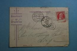 Carte Lettre Illustrée Souvenir De Bruxelles (8 Photos) - België