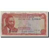 Kenya, 5 Shillings, 1978, 1978-07-01, KM:15, B+ - Kenya