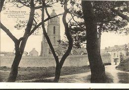 44 - BOURG DE BATZ -  Ruines De Notre Dame Du Murier Et Eglise 75 - Batz-sur-Mer (Bourg De B.)