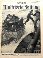 Berliner Illustrierte Zeitung 1941 Nr.32 Ich Fuhr Mit Kaleunt Prien - Deutsch