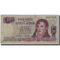 Argentine, 10 Pesos, Undated ( 1970-73), KM:289, B - Argentine