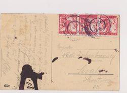 V1  >  SLOVENIA   --  VERIGARI, CHAINBREAKERS  --   AK LJUBLJANA._  PRESERNOV SPOMENIK  --  1919 - Slovenia