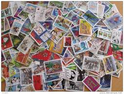 COLLECTION 500 TIMBRES FRANCE GRANDS FORMATS DIFFERENTS - France