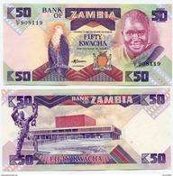 Zambia - 50 Kwacha 1980 - 88 UNC - Zambie