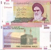 Iran 2000 Rials 2005 - 2010 UNC - Iran