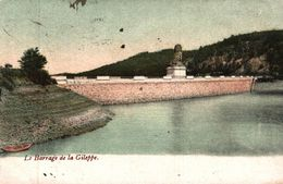 BELGIQUE LE BARRAGE DE LA GILEPPE - Gileppe (Barrage)