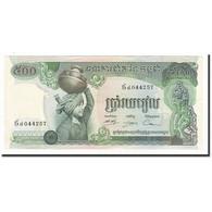 Cambodge, 500 Riels, Undated (1973-75), KM:16b, TTB+ - Cambodia