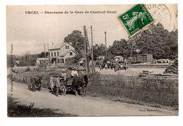 Urcel Panorama Gare Chailvet - France
