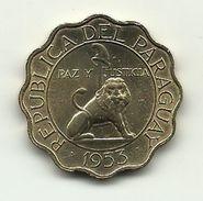 1953 - Paraguay 50 Centavos, - Paraguay