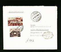 A4944) Ägypten Egypt R-Brief Von Bab El Luq 16.5.61 Zensur - Briefe U. Dokumente