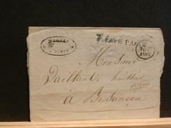 73/358  FRAGMENT  PP PARIS  1832 POUR BESANCON - 1801-1848: Précurseurs XIX