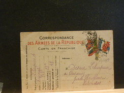 73/349  CP  MILITAIRE  1915 - Marcofilie (Brieven)