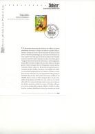 "Feuillet A5 ""journée Du Timbre  6.03.1999   ASTERIX   Paris "" - Kindertijd & Jeugd"