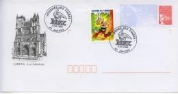 """Enveloppe """"journée Du Timbre  6.03.1999   ASTERIX  """"  Amiens - Childhood & Youth"""