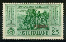 Patmo 1932 Sass. 19 Nuovo * 40% Garibaldi - Aegean (Patmo)