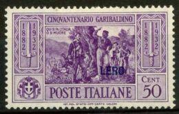 Lero 1932 Sass. 21 Nuovo * 40% Garibaldi - Aegean (Lero)
