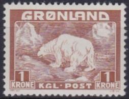 Groenland     .    Yvert   .   9     .     *    .   Ongebruikt  .   /   . Mint-hinged - Ungebraucht