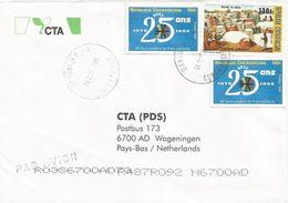 Centrafrique RCA CAR 2002 Bangui Mpoko Cotton Market Francophonie Cover - Centraal-Afrikaanse Republiek