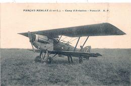 Cpa 37 Parçay-Meslay Potez 25 Camp D'aviation - Francia
